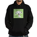 Dalmatian Woof Hoodie (dark)