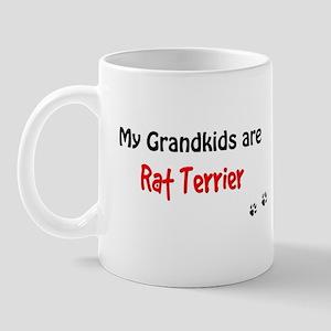 Rat Terrier Grandkids Mug