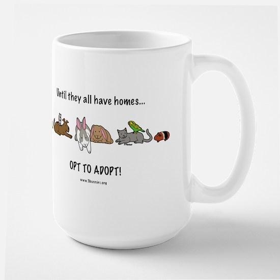 Large Mug opt to adopt