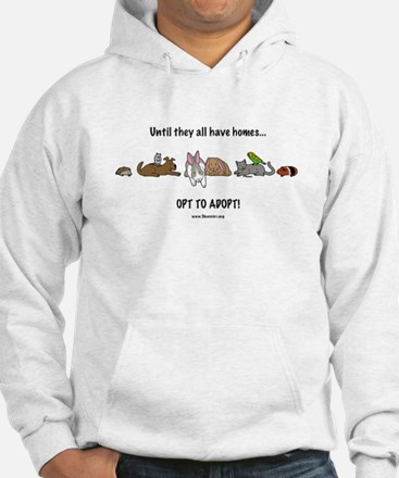 Hoodie opt to adopt