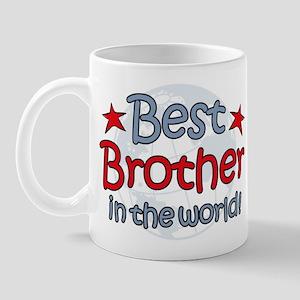 Best Brother Globe Mug