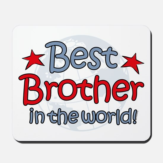 Best Brother Globe Mousepad