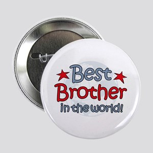 "Best Brother Globe 2.25"" Button"
