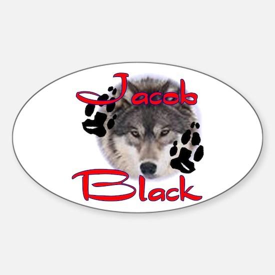 Jacob Black /2 Oval Decal