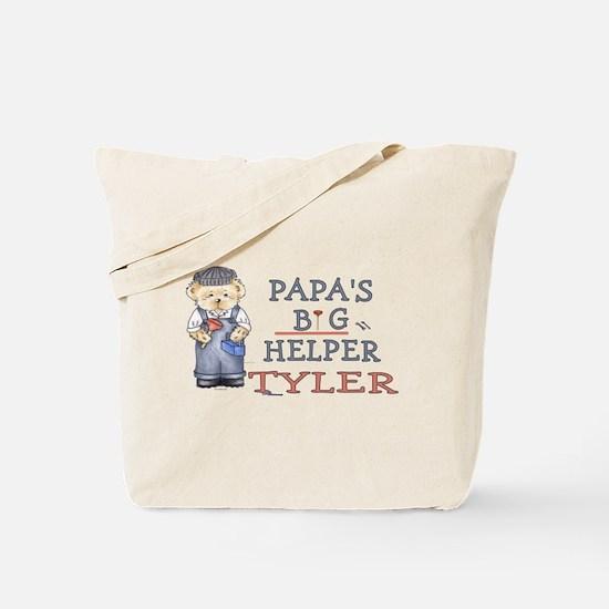 Papa's Big Helper Tyler Tote Bag