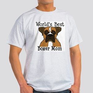 World's Best Boxer Mom Light T-Shirt