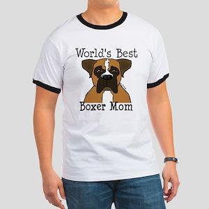 World's Best Boxer Mom Ringer T