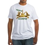 Triple Scorpio Fitted T-Shirt