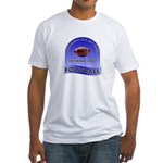 If Swimming was any easier... Fitted T-Shirt