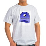 If swimming was any easier... Ash Grey T-Shirt