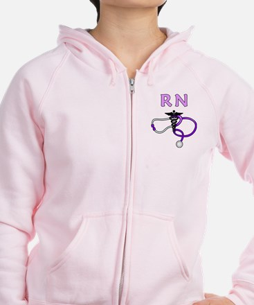 RN Nurse Medical Zip Hoody
