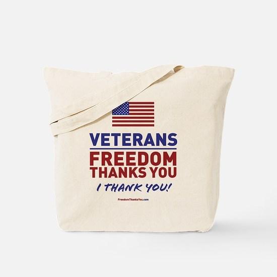 Unique Thank you veterans Tote Bag