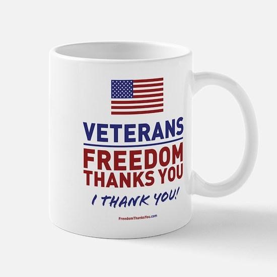 Cute Thank a veteran Mug