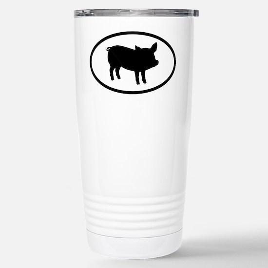 Pig Stainless Steel Travel Mug