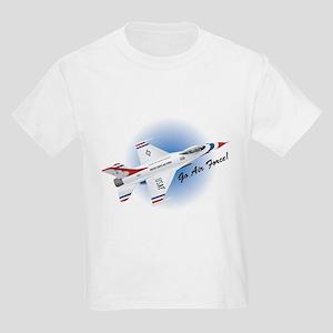 Go Air Force Kids T-Shirt