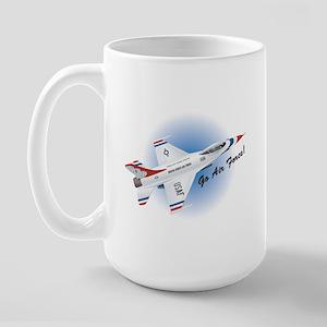 Go Air Force Large Mug