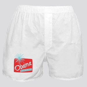 Obama Christmas President Boxer Shorts