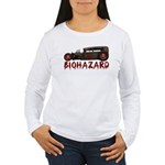 Biohazard- Women's Long Sleeve T-Shirt