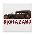 Biohazard- Tile Coaster