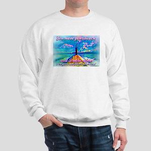 Steel Beach Scene Sweatshirt