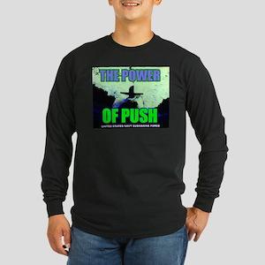 Power of Push Long Sleeve Dark T-Shirt