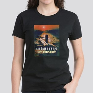 Sub Sunset Women's Dark T-Shirt