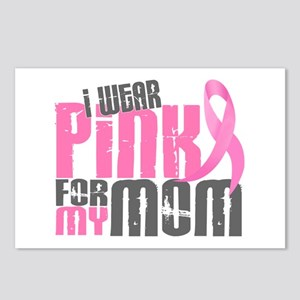 I Wear Pink For My Mom 6.2 Postcards (Package of 8