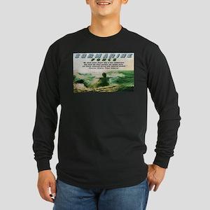 Submarine Force Long Sleeve Dark T-Shirt