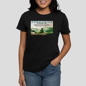 Submarine Force Women's Dark T-Shirt