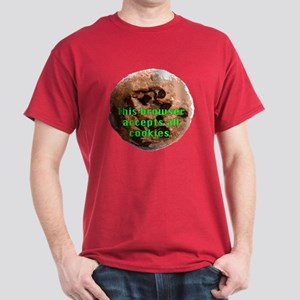 Browser Accepts All Cookies Dark T-Shirt