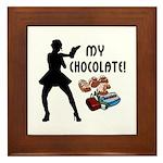 My Chocolate Framed Tile