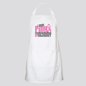 I Wear Pink For My Mommy 6.2 BBQ Apron