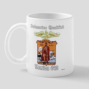 Vers SSN 642 Orange Officer Mug