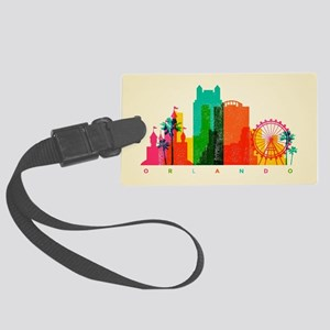 Orlando Skyline Large Luggage Tag