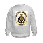 USS JOHN HANCOCK Kids Sweatshirt