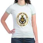 USS JOHN HANCOCK Jr. Ringer T-Shirt