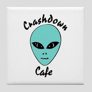 Crashdown Cafe Tile Coaster