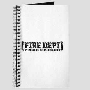 Proud Husband Fire Dept Journal