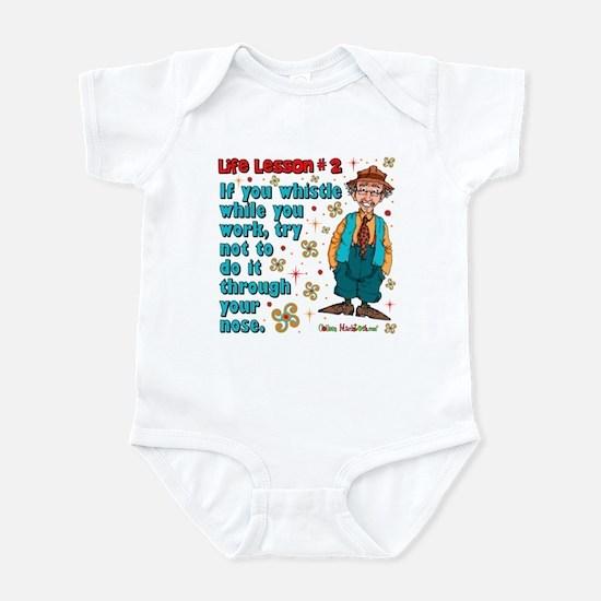 Life Lesson #2 Infant Bodysuit