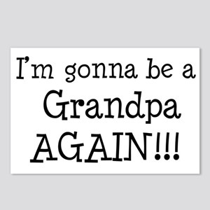 Gonna Be Grandpa Again Postcards (Package of 8)