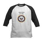 USS KIDD Kids Baseball Jersey