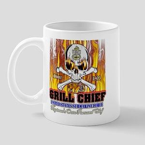 CPO Skull & Bones BBQ Mug