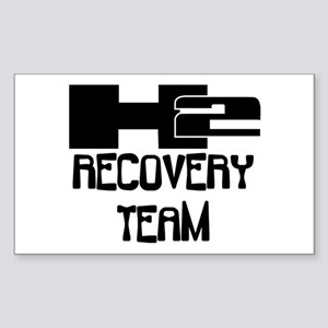 H2 Recovery Team Rectangle Sticker