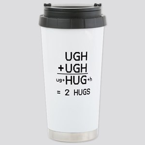 """the """"HUG not UGH"""" mug"""