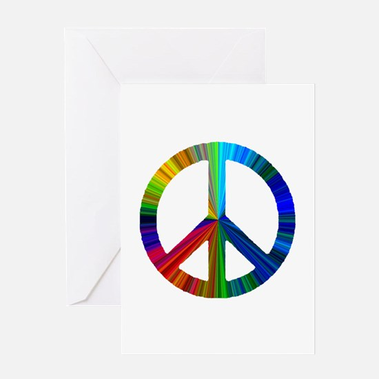 Cool Hippie christmas Greeting Card