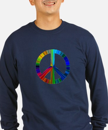 PEACE sign prism Long Sleeve T-Shirt