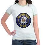USS JOSEPH HEWES Jr. Ringer T-Shirt