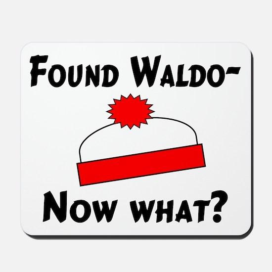 Found Waldo Mousepad