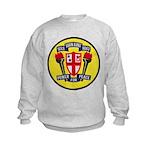 USS JOHN KING Kids Sweatshirt
