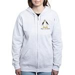cute penguin Women's Zip Hoodie